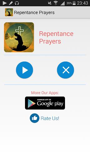 Repentance Prayers