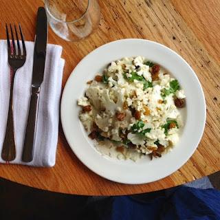 Barbuto Restaurant Cauliflower Salad .