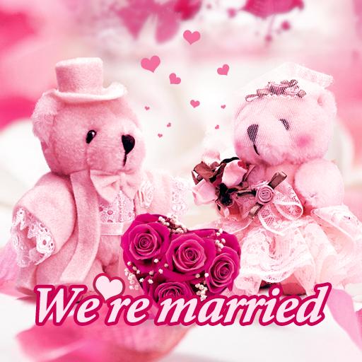 Cute Teddy Bear Theme Love