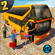 Coach Bus Hill Road Simulator- Free Euro Bus Games‏