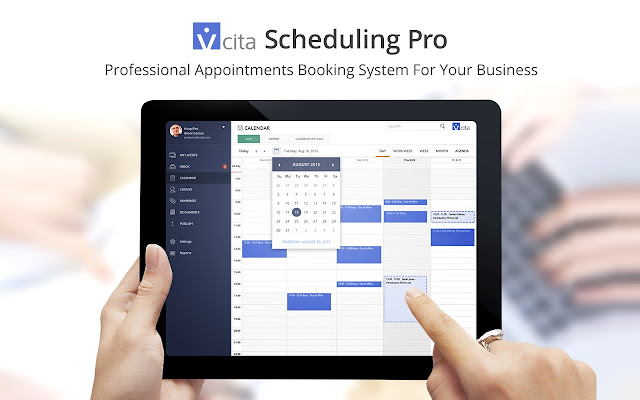 appointment booking scheduling by vcita chrome web store