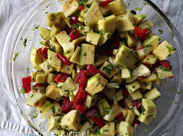 Simple Squash Salad Recipe