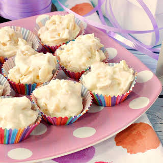 Easy to Make Tropical White Chocolate Candy Bites.