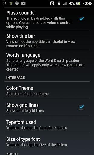 Word Search 1.1.9 screenshots 11