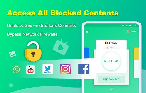 NetCapsule VPN   Free VPN Proxy, Fast VPN, Unblock screenshot 13
