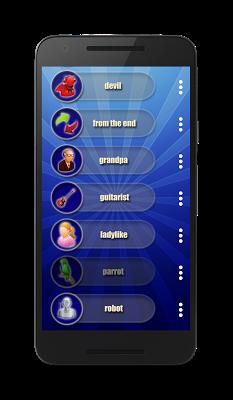 Add voice effects - screenshot