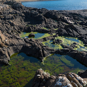 Rocky Coast by Luke Albright - Landscapes Waterscapes ( coast, beach, water, rocky, sea, scotland )