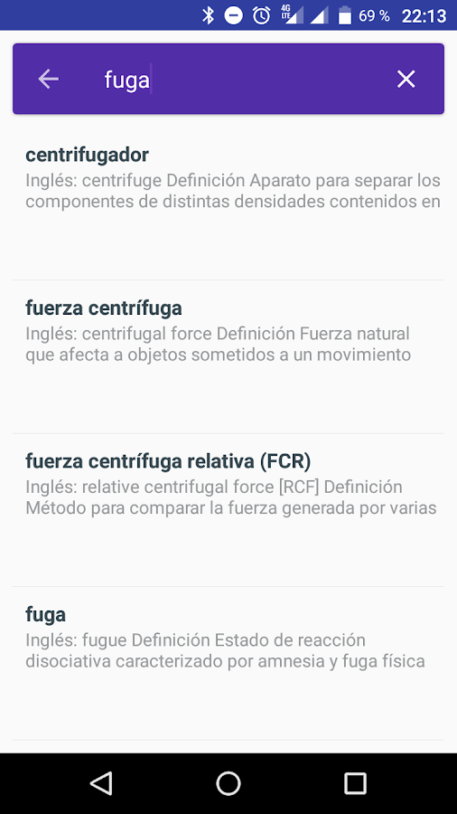 Diccionario Médico- screenshot