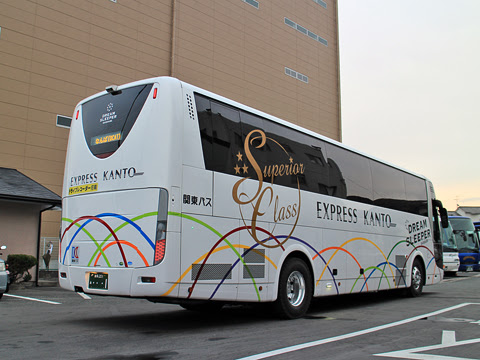 関東バス「ドリームスリーパー東京大阪号」 ・・・1 両備バス門真車庫にて その2