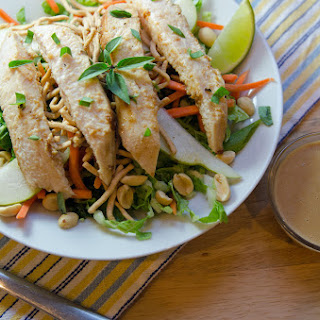 Asian Peanut Chicken Salad.