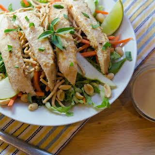 Asian Peanut Chicken Salad.