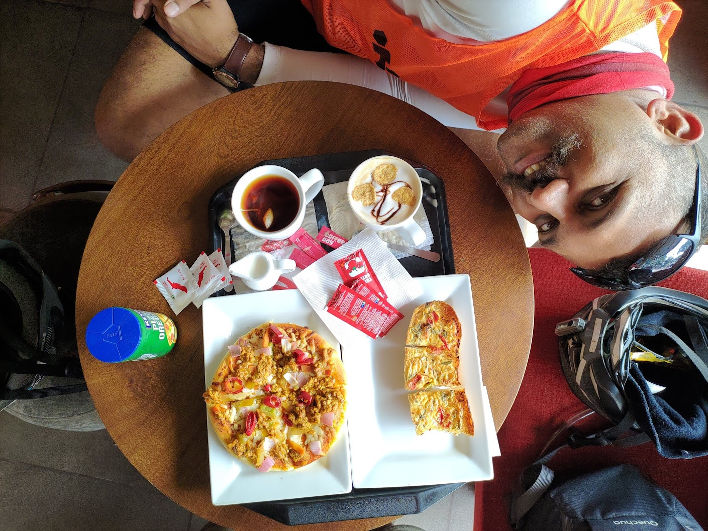 Breakfast at CCD