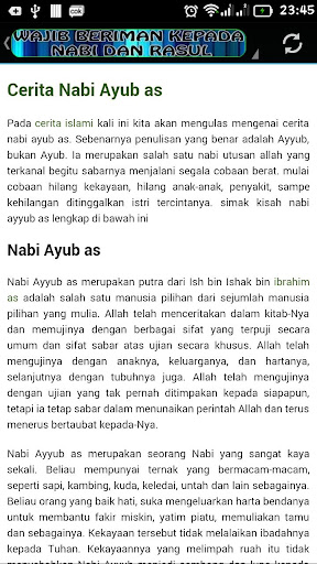 Mukjizat Para Nabi & Rasul screenshots apkspray 16
