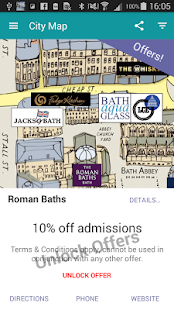 Bath SO Visitor Guide Map Lite - náhled