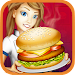 Fast Food Kitchen Burger icon