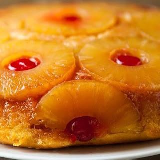 Pineapple Upside-Down Skillet Cake.