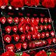 Dark Red Rose Keyboard Theme Download on Windows