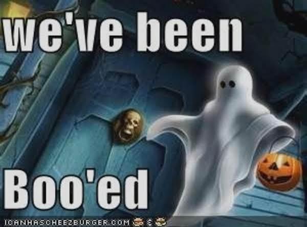 Halloween Boo! Recipe