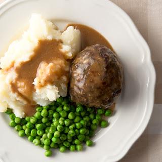 English Venison Meatballs