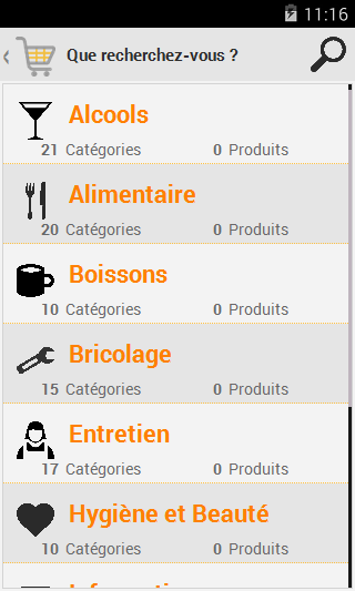 My Shopping Lists- screenshot