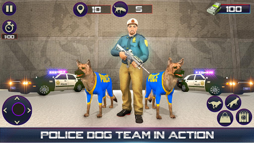 Us Police Dog Duty Simulator screenshots 1