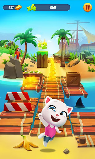 Talking Tom Gold Run  mod screenshots 2