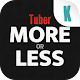 Tuber More or Less (game)