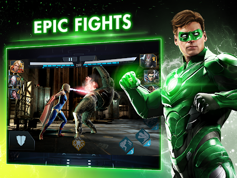 Injustice 2 apk screenshot