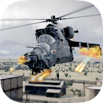 Gunship Air Strike - Heli 3D Icon