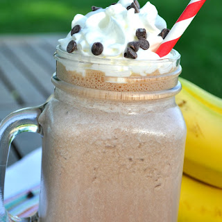 Healthy Chunky Monkey Breakfast Smoothie.