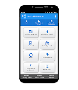 Govt eProcurement System App Download For Android and iPhone 7
