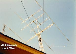 Photo: 44 Elm 2 Mtr antenna - WB9OTX