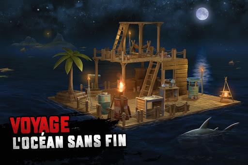 Survie sur un radeau: Survival on Raft - Nomad fond d'écran 1