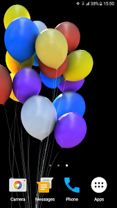 Balloons 3D Live Wallpaper screenshot 3