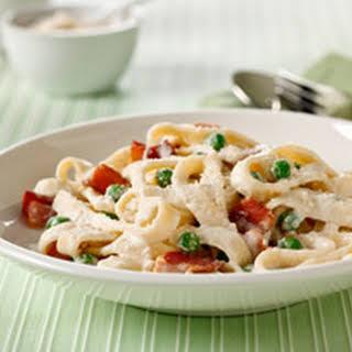 Philadelphia Quick Pasta Carbonara.