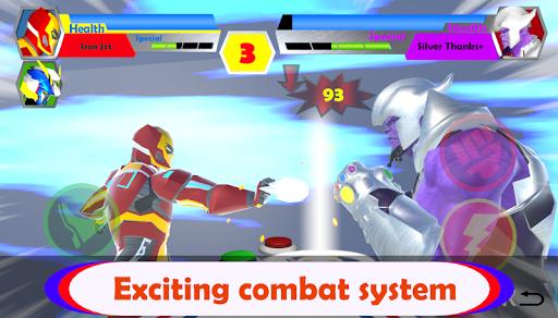 Ultra Hero Fusion : Superhero Ultra Man Battle 1.0.1 screenshots 3