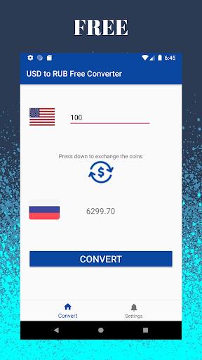 Dollar Usd To Russian Ruble Rub