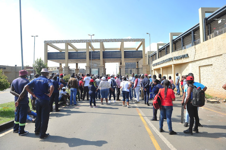 Absenteeism among staff appears to be under control at Chris Hani Baragwanath Hospital. File image.