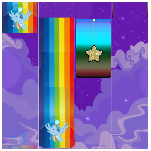 Piano Little Pony Tiles file APK for Gaming PC/PS3/PS4 Smart TV