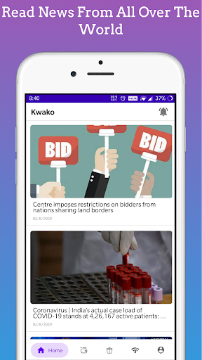 Kwako - Read News , Play Games And Earn Points screenshots 2