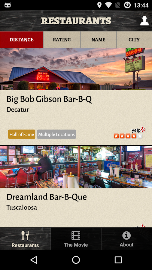 Alabama BBQ Trail- screenshot