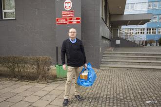 Photo: QSL manager DOT Marek SP6DT ze swoim majdanem....