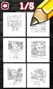 Pj Max Coloring Book Apl Di Google Play