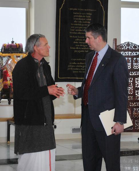 Photo: President Holland of Utah Valley University