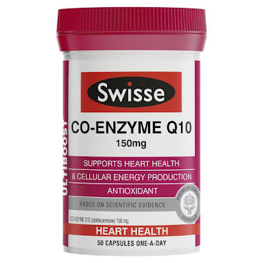 Swisse Ultiboost Co Enzyme Q10 輔酶膠囊 150mg