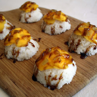 Mango Sticky Rice with Candied Ginger