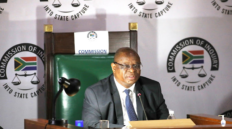 Deputy chief justice Raymond Zondo postponed the state capture inquiry hearings until January 25.