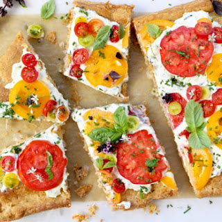 Tomato Tart Recipe with Goat Cheese & Puff Pastry Recipe