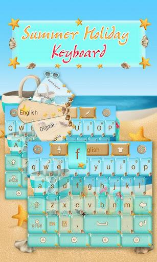 Summer Holiday Keyboard
