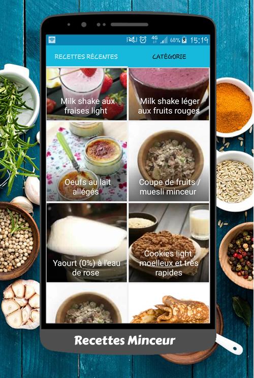la cuisine de r 233 gime recettes android apps on play